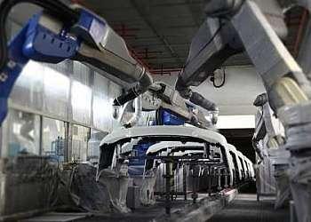 Robôs de automação industrial