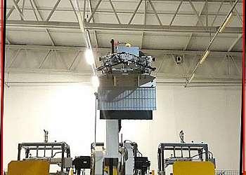 Robôs zona industrial