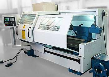 Torno cnc industrial